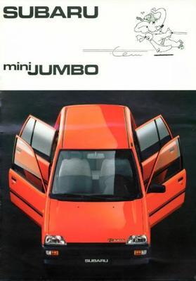Subaru Mini Jumbo Dl,sdx