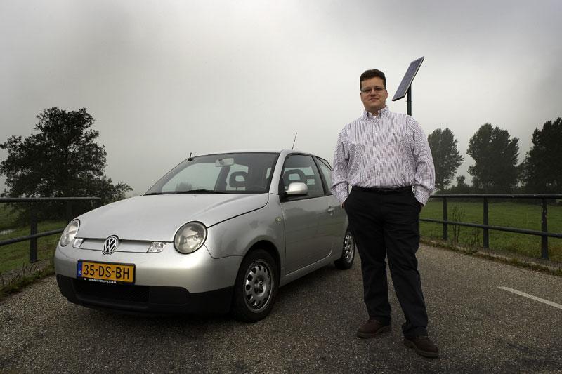 Klokje rond Volkswagen Lupo 3L