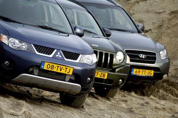 Mitsubishi Outlander 2.0 DI-D /Jeep Compass 2.0 CRD /Hyundai Santa Fe 2.2 CRDi V