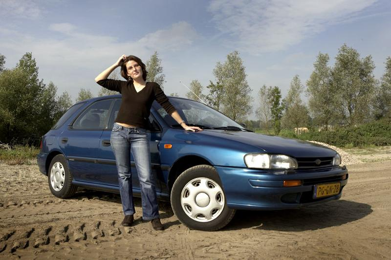 Klokje rond Subaru Impreza Plus (1996)