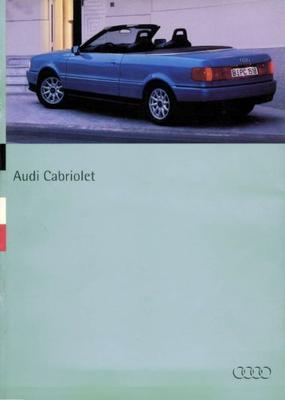 Audi Cabriolet 2.0,2.6e,2.8e,