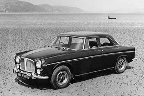 H.M. the queen's Rover P5