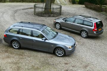 Volvo V70 2.4 D – BMW 520d touring Corporate Lease