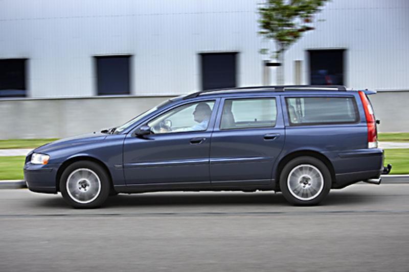 Klokje rond Volvo V70