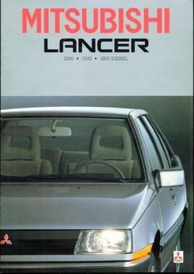 Mitsubishi Lancer Glx,el,gl,eld,gld,aut