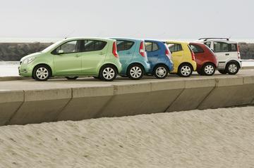 Opel Agila 1.0 / Suzuki Splash 1.0 / Hyundai i10 1.1 / Kia Picanto 1.1 / Fiat Pa