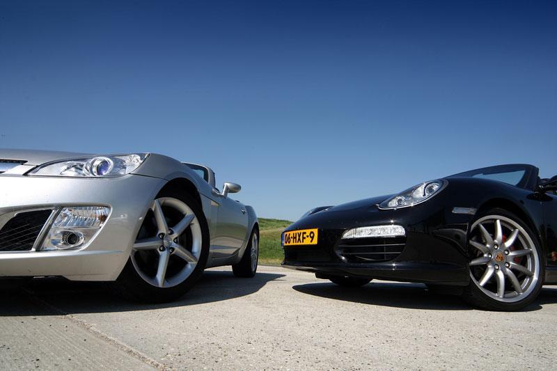 Opel GT - Porsche Boxster S