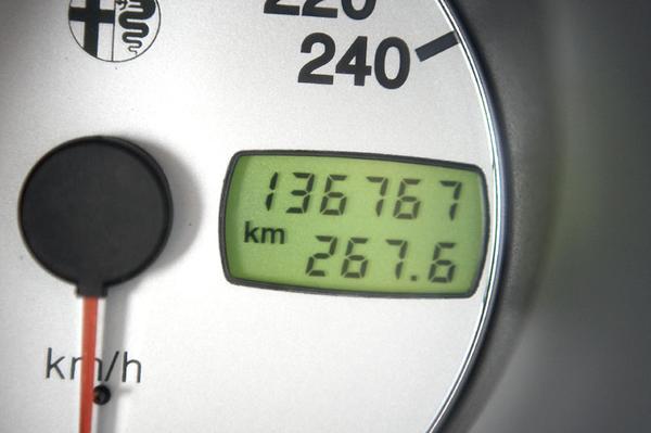 Klokje rond Alfa Romeo 156 1.8 Twin Spark