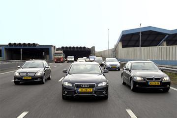 Audi A4-BMW 3-serie-Mercedes C-klasse