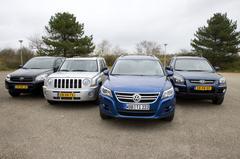 Volkswagen Tiguan 1.4 TSI – Jeep Patriot 2.4 – Kia Sportage 2.0 – Toyota RAV4 2.0