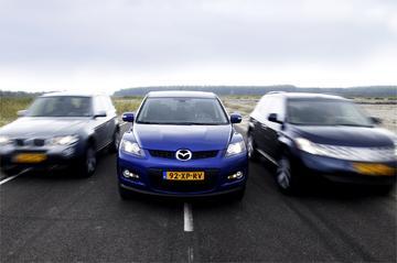 Mazda CX-7-Nissan Murano-BMW X3