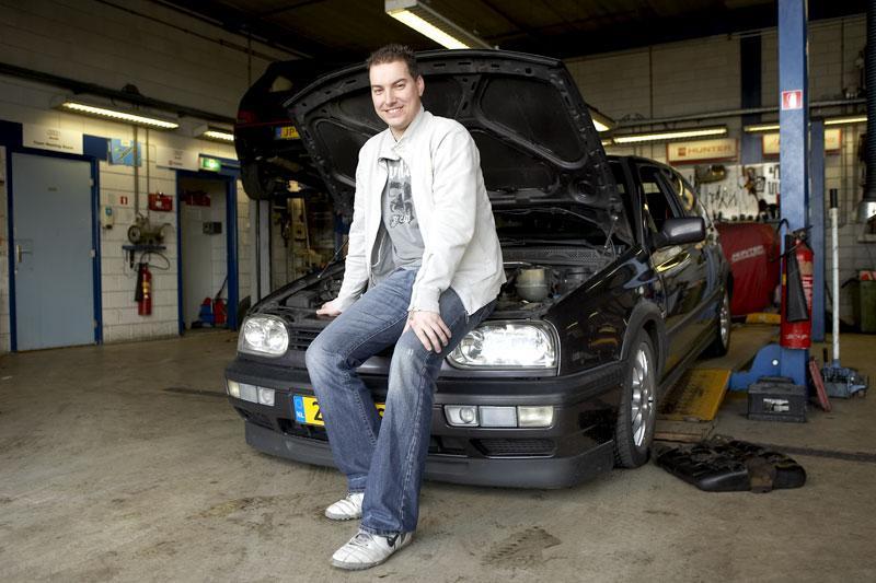Klokje rond Volkswagen Golf GTI