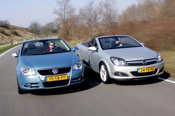 Volkswagen Eos - Opel Astra Twin Top