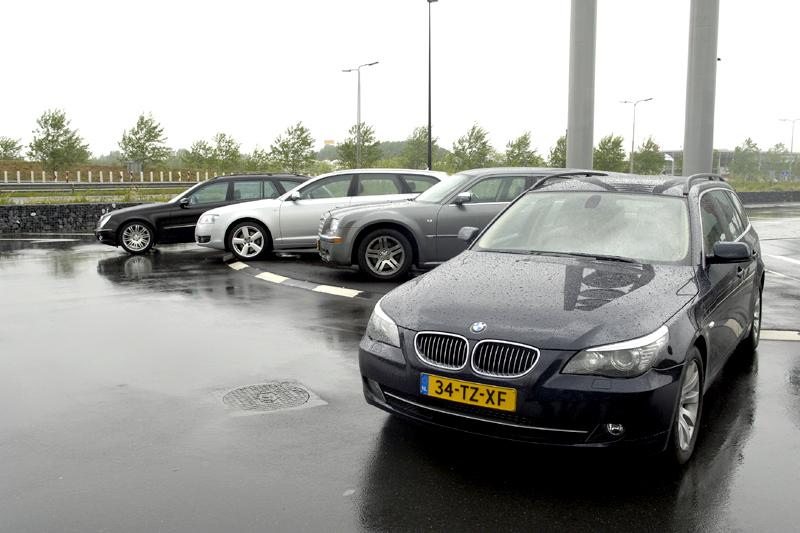 BMW 525d - Mercedes E 320 CDI - Audi A6 - Chrysler 300C