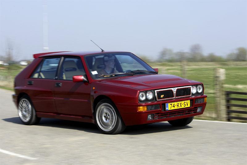 Blits bezit: Lancia Delta HF Integrale