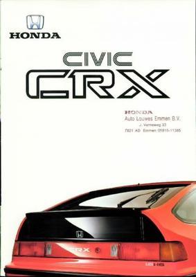 Honda Civic,crx, 16v,4wd,gl