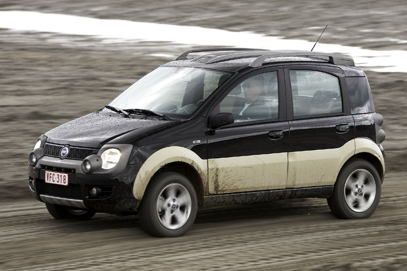 fiat panda 1 3 multijet 16v 4x4 cross 2006 autotest. Black Bedroom Furniture Sets. Home Design Ideas