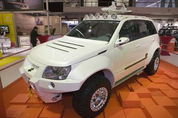 Hollands glorie: Suzuki Grand Vitara Bandit