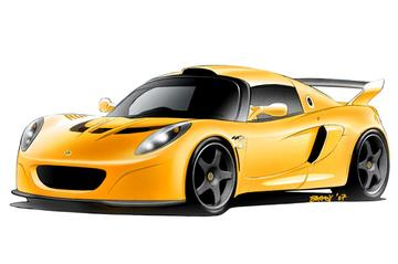 Extreme Lotus: Exige GT3 Concept Road Vehicle