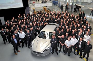 Afleveringen Aston Martin Rapide van start