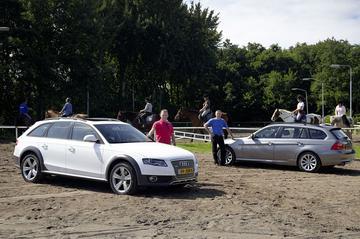 Audi A4 allroad 3.0 TDI quattro - BMW 330d xDrive Touring