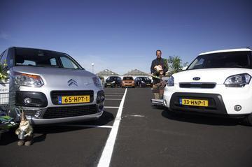 Citroën C3 Picasso 1.4 VTi >> Honda Jazz 1.2 16V >> Kia Soul 1.6 CVVT >> Nissan