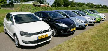 Volkswagen Polo - Ford Fiesta - Opel Corsa - Seat Ibiza - Hyundai i20 - Suzuki S