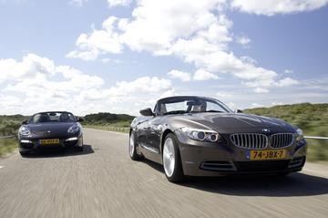 BMW Z4 sDrive35iA - Porsche Boxster S PDK
