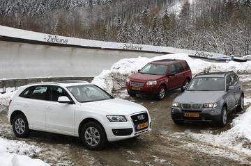 Audi Q5 3.0 TDI/ BMW X3 3.0 SD/ Land Rover Freelander 2.2 TD HSE