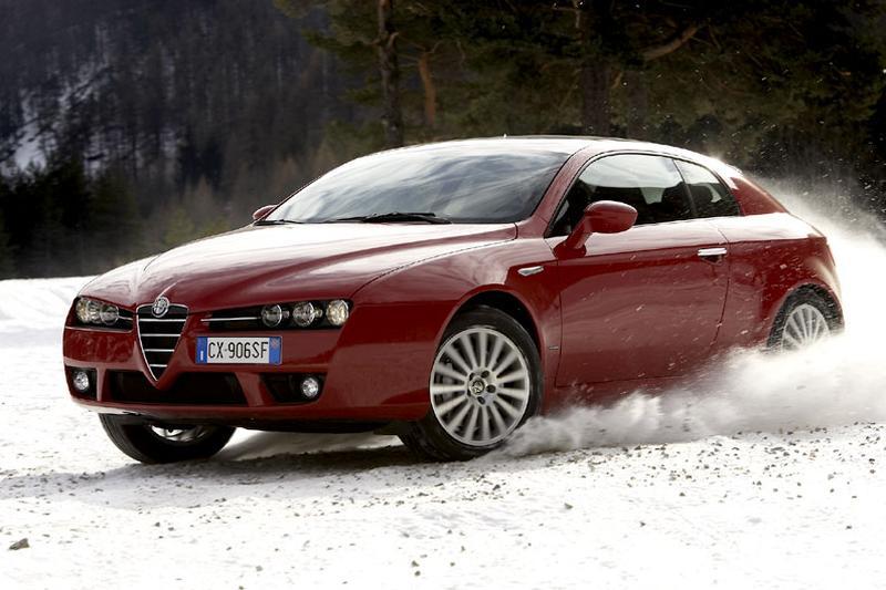 Alfa Romeo Brera 3.2 JTS V6 Q4 (2006)