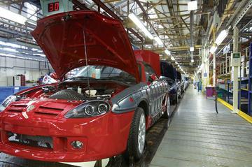 Wedergeboorte MG TF uitgesteld tot 2008