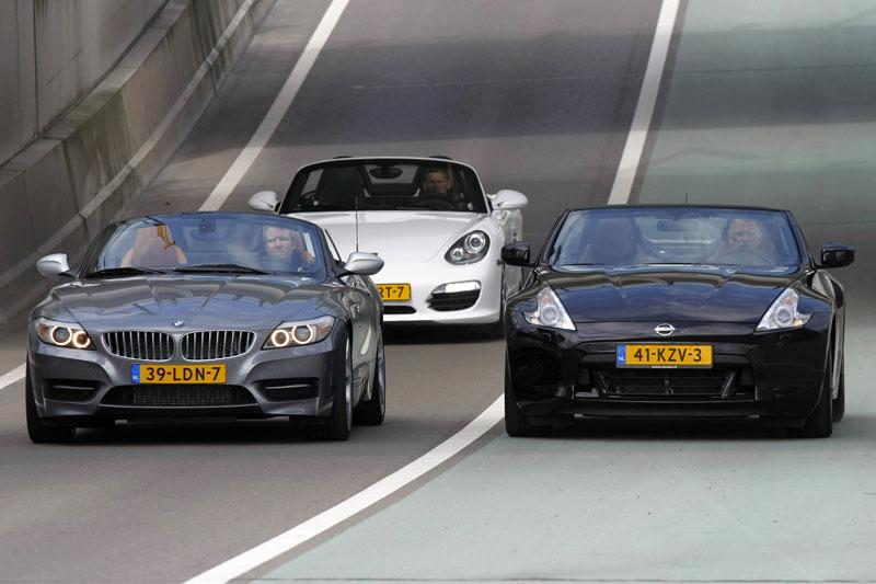 BMW Z4 sDrive35is - Nissan 370Z Roadster - Porsche Boxster S