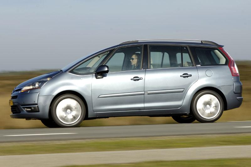 citroen grand c4 picasso 2 0 hdif 138 exclusive 2007 autotest. Black Bedroom Furniture Sets. Home Design Ideas