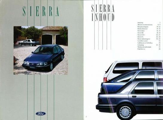 Ford Sierra Clclx, Ghia, Xr 4x4