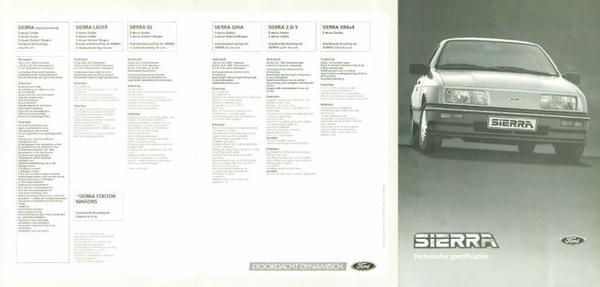 Ford Sierra Stationwagon,l,gl,ghia,xr4i