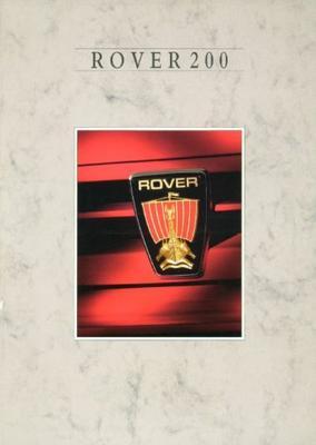 Rover Rover 200 213 Se,213se Automaat,216 Se Efi,2