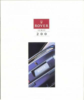 Rover 200 214 Si,220 Gti,214 Gsi,216 Gsi,218 Gsd,c