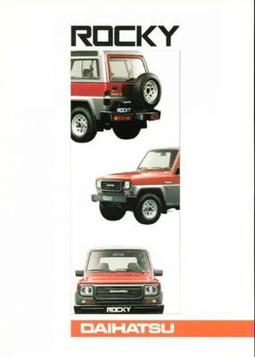 Daihatsu Rocky Softtop,hardtop,diesel,turbo,wagon