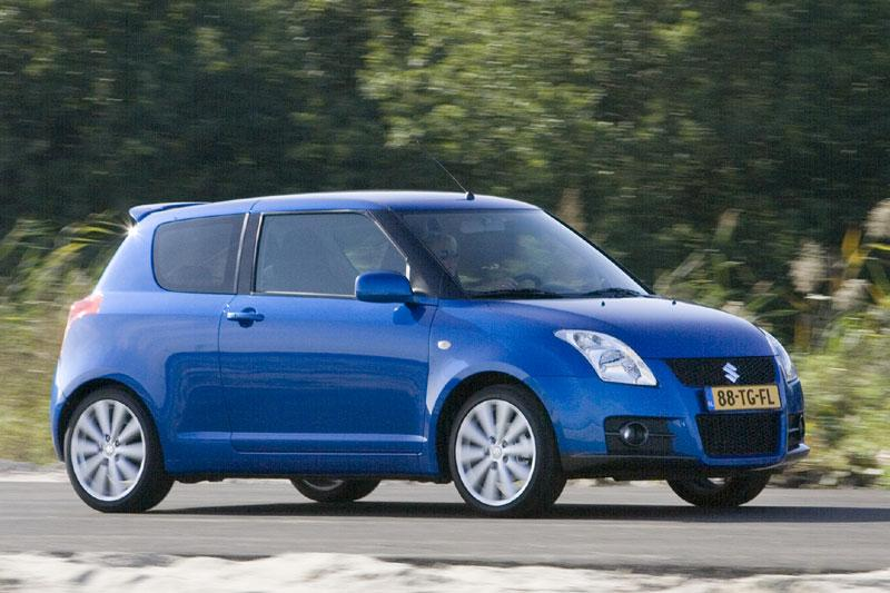 suzuki swift 1 6 sport 2007 autotest. Black Bedroom Furniture Sets. Home Design Ideas