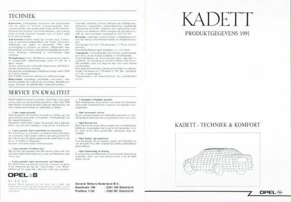 Opel Opel Kadett 1991