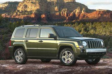 Jeep Patriot bij de dealer