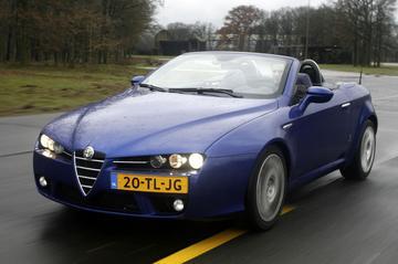 Alfa Romeo Spider 3.2 JTS V6 Q4 Exclusive (2007)
