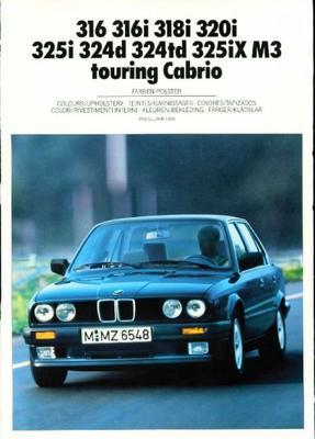 BMW 316,316i,318i,320i,325i,324d,324td,325ix,m3 To