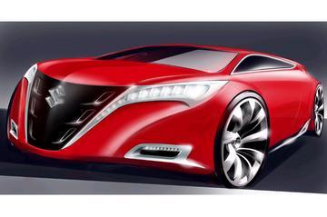 Kizashi: nieuwe 'Giant Suzuki'