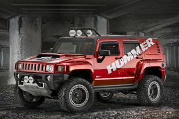 Hummer H3R: Z06-spieren