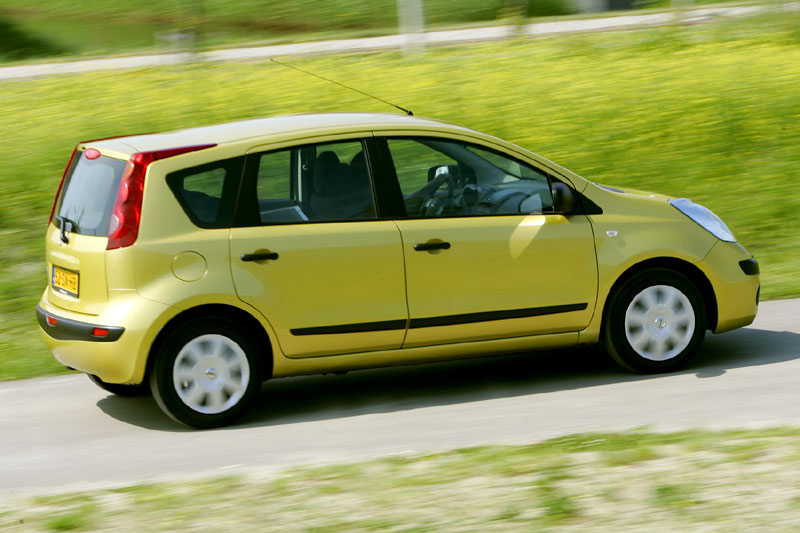 nissan note 1 4 visia 2007 autotest. Black Bedroom Furniture Sets. Home Design Ideas
