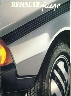 Renault Fuego Gtx,gtl,gts,aut,tl