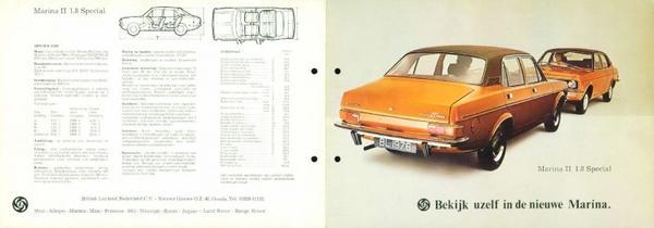 Morris Marina 2 1.8 Special