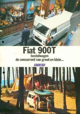 Fiat 900 900t Bestel Wagen,900t Bedrijfsbus
