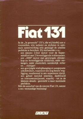Fiat 131 2000tc,131 Supermirafiori Panorama 2000tc